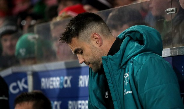 Conor Murray in the closing stages of the game