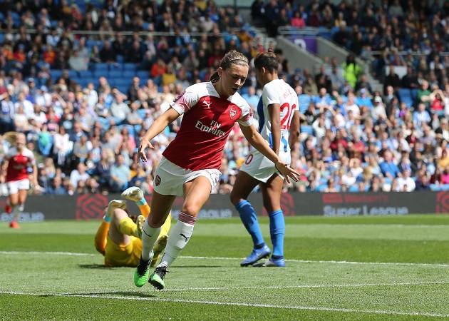 Brighton and Hove Albion Women v Arsenal Women - FA Women's Super League - AMEX Stadium