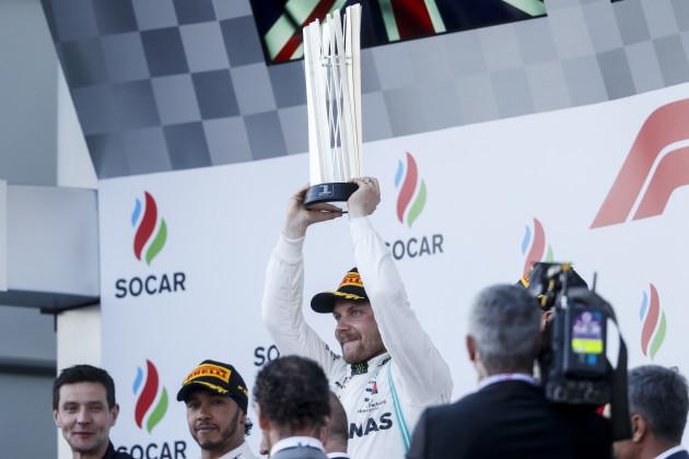 Formula 1 Azerbaijan Grand Prix - Bottas wins