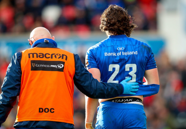 Barry Daly injured