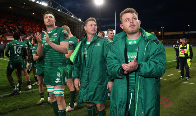Connacht's Finlay Bealham after the match