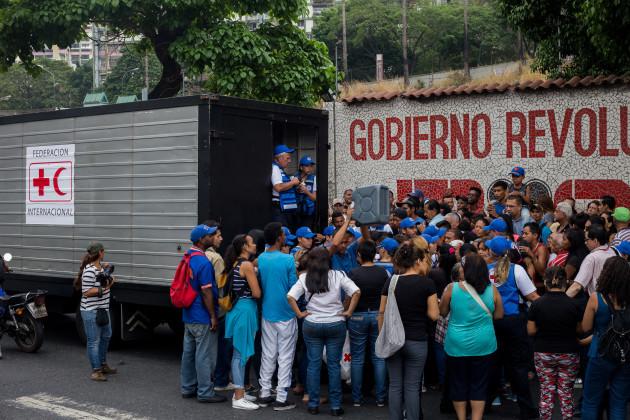 Red Cross sends first relief supplies to Venezuela