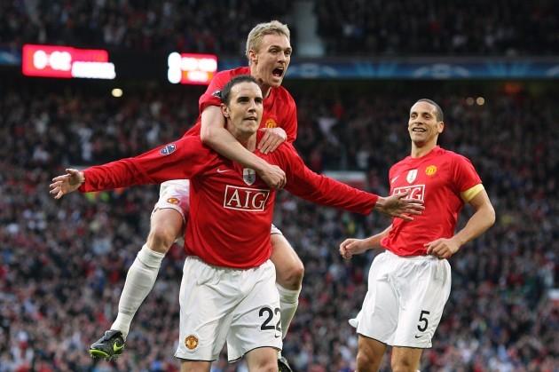 Soccer - UEFA Champions League - Semi Final - First Leg - Manchester United v Arsenal - Old Trafford
