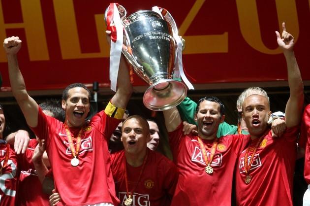 Soccer - UEFA Champions League - Final - Manchester United v Chelsea - Luzhniki Stadium