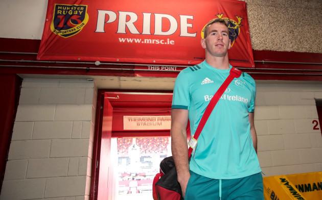 Chris Farrell arrives