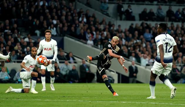 Tottenham Hotspur v Ajax - UEFA Champions League - Semi Final - First Leg - Tottenham Hotspur Stadium
