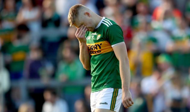 Peter Crowley dejected