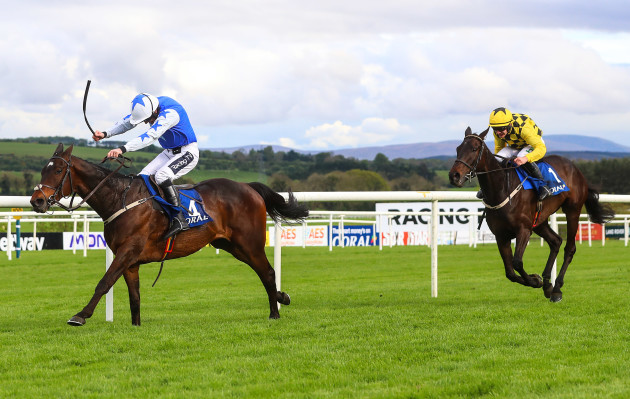 Ruby Walsh onboard Kemboy comes home to win ahead of Paul Townend onboard Al Boum Photo