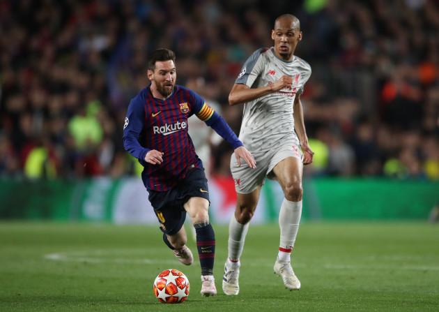 Barcelona v Liverpool - UEFA Champions League - Semi Final - First Leg - Camp Nou
