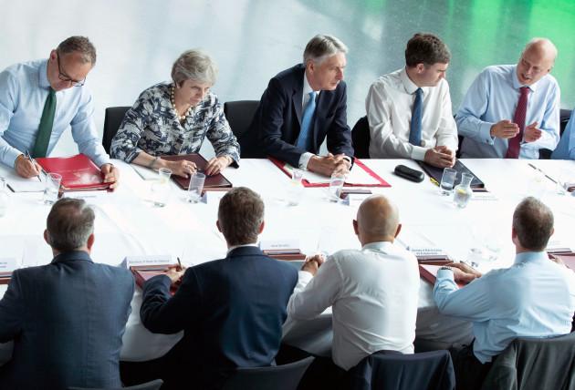 Cabinet meeting in Gateshead