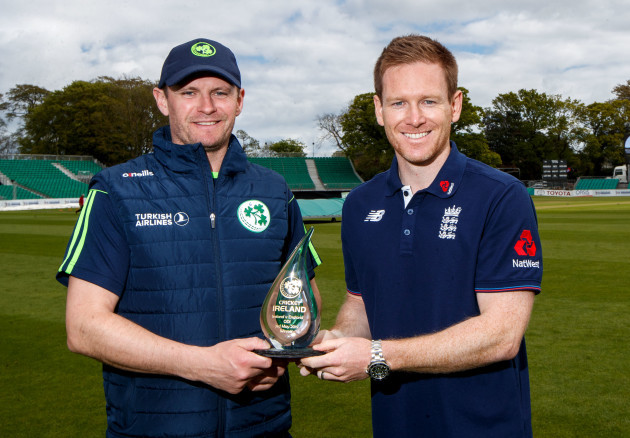 William Porterfield and Eoin Morgan