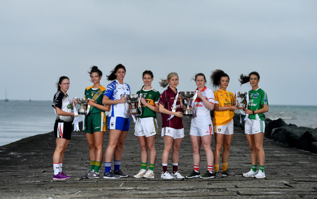 2019 Lidl Ladies National Football League Finals Captain's Day