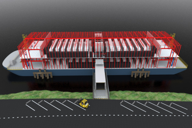 floating data centre