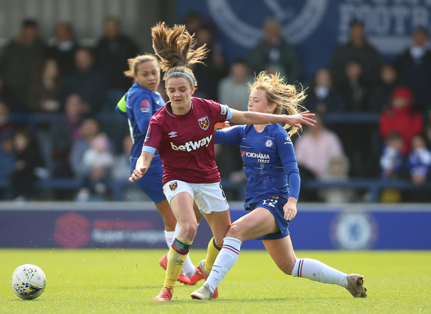 Chelsea Women v West Ham United Women - FA Women's Super League - Kingsmeadow