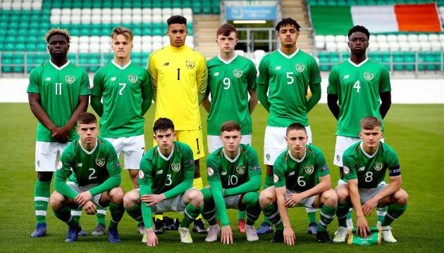 Ireland U17 team