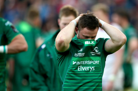 Caolin Blade dejected after the game
