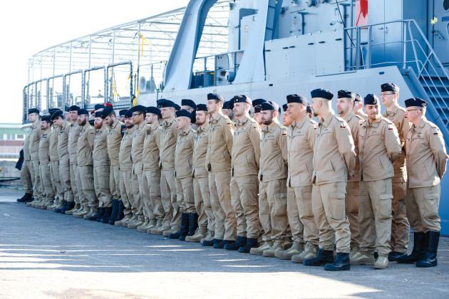 Tender Mosel departs for EU deployment