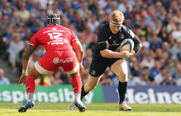 Leinster's James Tracy