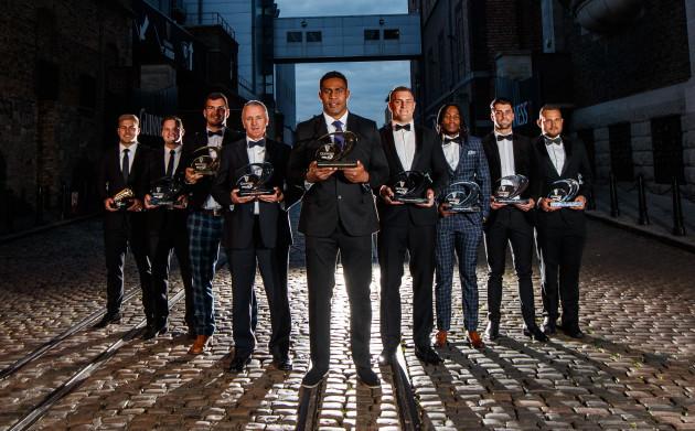 Guinness PRO14 Award winners