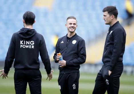 Manchester City v Leicester City - Premier League - Etihad Stadium