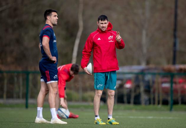 Conor Murray with Felix Jones