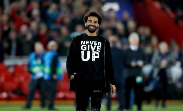 Liverpool v Barcelona - UEFA Champions League - Semi Final - Second Leg - Anfield