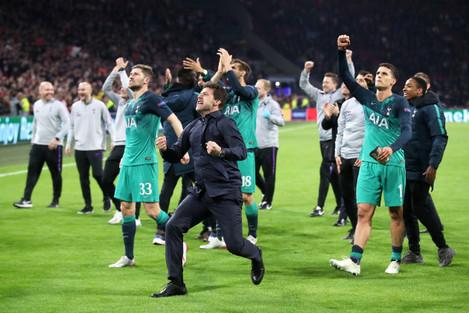 Ajax v Tottenham Hotspur - UEFA Champions League - Semi Final - Second Leg - Johan Cruijff ArenA