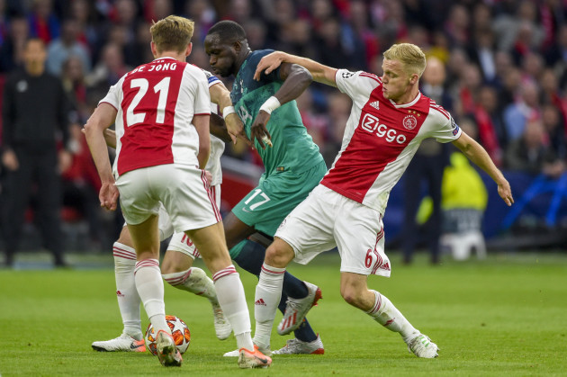 Netherlands: Ajax v Tottenham - UEFA Champions League Semi-Final