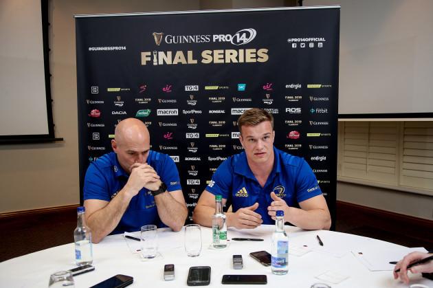 Felipe Contepomi and Josh van der Flier