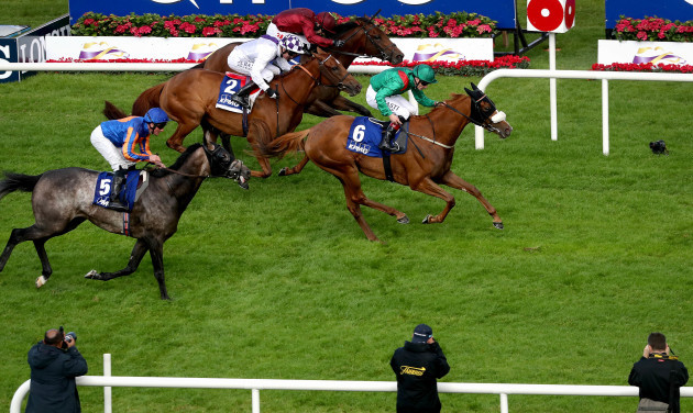 Pat Smullen onboard Eziyra comes home to win