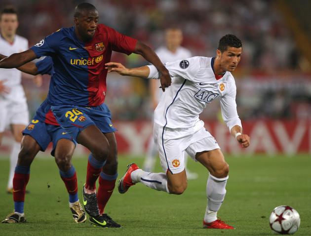 Soccer - UEFA Champions League - Final - Barcelona v Manchester United - Olympic Stadium