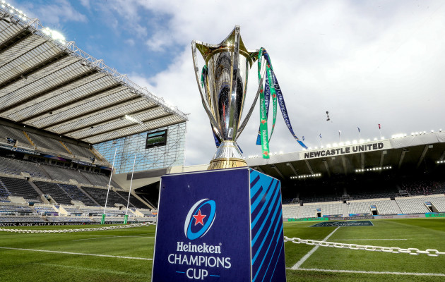 A general view of the Heineken Champions Cup