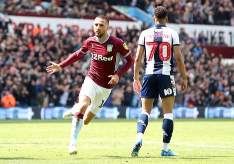 Aston Villa v West Bromwich Albion - Sky Bet Championship Play-off - Semi Final - First Leg - Villa Park