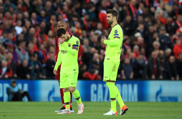 Liverpool v Barcelona - UEFA Champions League - Semi Final - Second Leg - Anfield