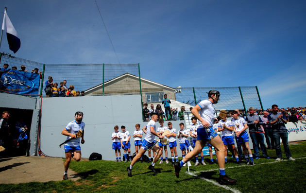 Waterford make their way out