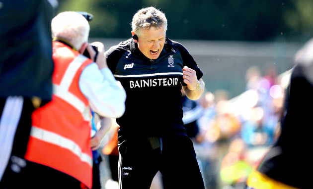 Donal Moloney celebrates at the final whistle