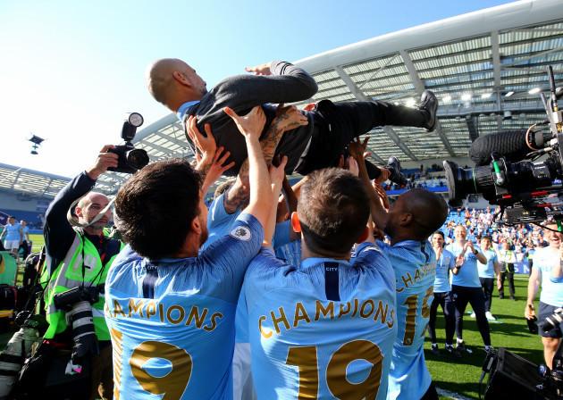 Brighton and Hove Albion v Manchester City - Premier League - AMEX Stadium