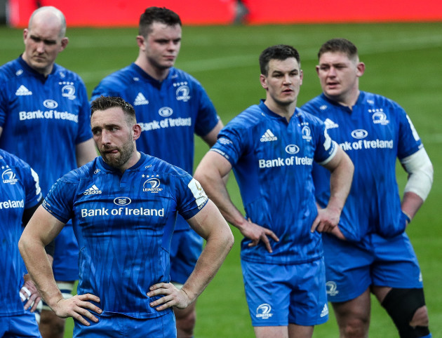 Jack Conan dejected after the game