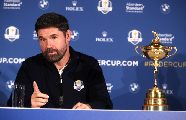 Team Europe Ryder Cup Press Conference - Wentworth Golf Club