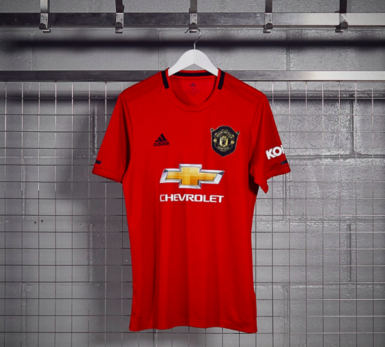 new style 54892 67ec7 Pogba features as Man United unveil new treble-inspired home ...