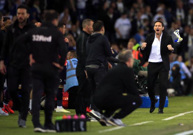 Leeds United v Derby County - Sky Bet Championship Play-off - Semi Final - Second Leg - Elland Road