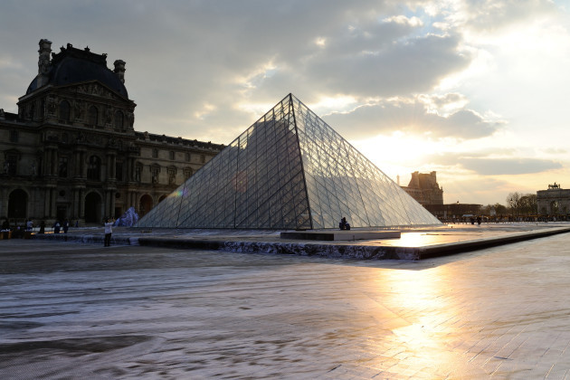 30th Anniversary Celebrations Of The Louvre Pyramid