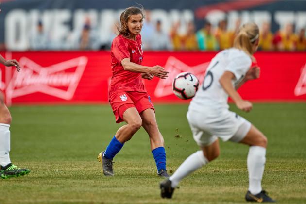 SOCCER: MAY 16 Women's - USA v New Zealand