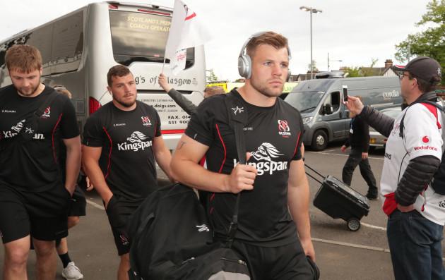 Jordi Murphy arrives