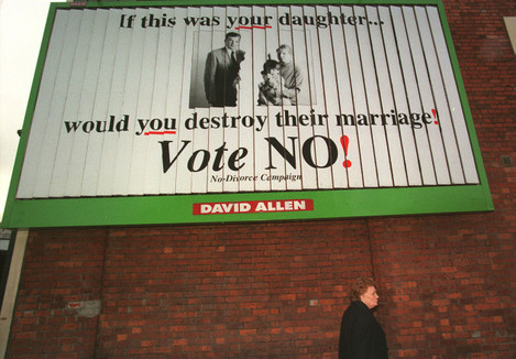 Irish divorce vote poster
