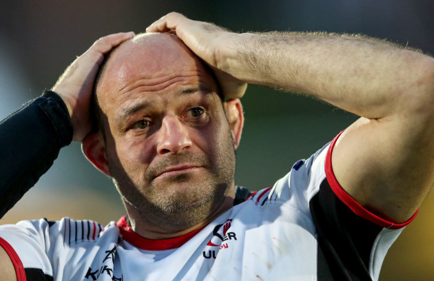 Rory Best after playing his last game for Ulster