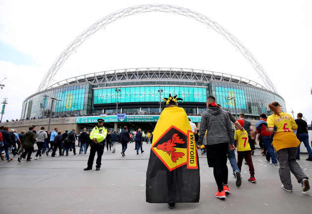 Manchester City v Watford - FA Cup Final - Wembley Stadium