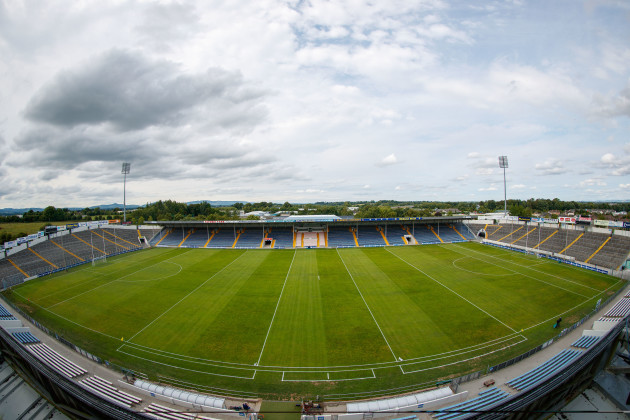 A general view of Semple Stadium