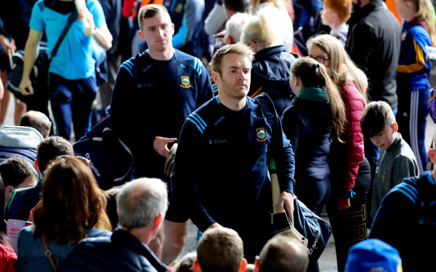 Noel McGrath arrives