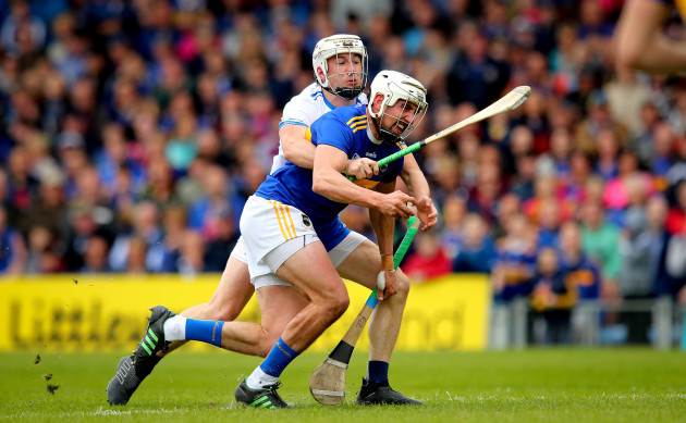 Patrick Maher is fouled by Conor Gleeson